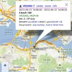 20130921-1408 VR2UNG-7 M Testing APRS