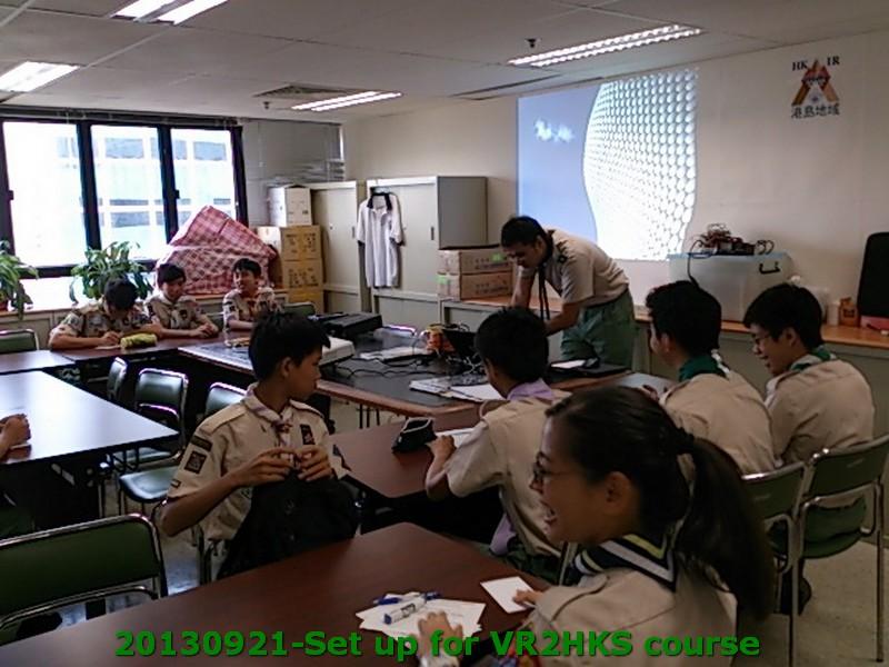 start VR2HKS Course